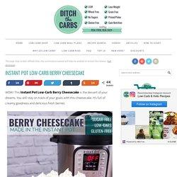 Berry Cheesecake - walnut crust
