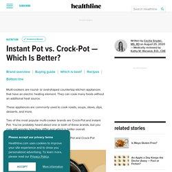 Instant Pot vs. Crock-Pot: Comparison and Review