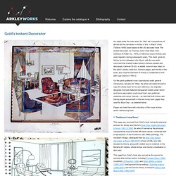 Gold's Instant Decorator   Arkley Works