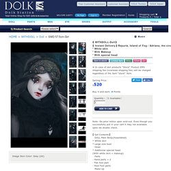 【Instant Delivery】Repuria, Island of Fog / Adriana, the circus girl * White skin * With Makeup * With special head