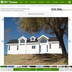 2016 Instant Mobile House Enchanted Cottage, EL CAJON CA - - RVtrader.com