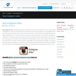 Buy Instant Instagram Likes and Cheap