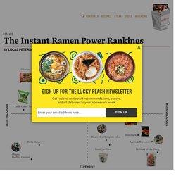The Instant Ramen Power Rankings