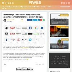 Instant logo Search : une base de donnée géniale pour rechercher des milliers de logos