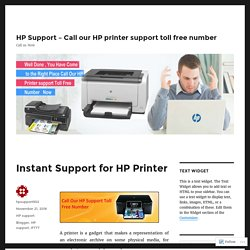 Instant Support for HP Printer