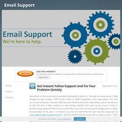 Online Yahoo Customer Support