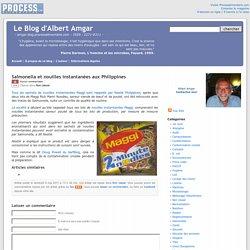 BLOG D ALBERT AMGAR 06/05/11 Salmonella et nouilles instantanées aux Philippines