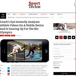 Coach's Eye Instantly Analyzes Athlete Videos On A Mobile Device