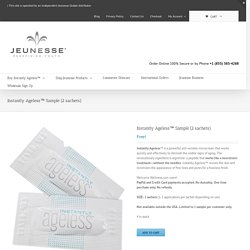 Instantly Ageless by Jeunesse Global - Instantly Ageless™ Sample (2 sachets)