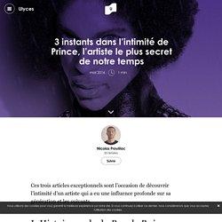 3 instants dans l'intimité de Prince, l'artiste le plus secret de notre temps