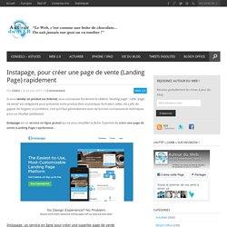 Instapage, pour créer une page de vente (Landing Page) rapidement