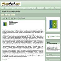 HOA Property Management Software