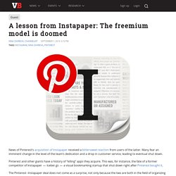 A lesson from Instapaper: The freemium model is doomed – VentureBeat