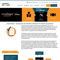 Careers Unbound – Online Portal For Employee Recruitment
