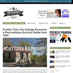 Cottage Economy, A Survival Guide From 1864