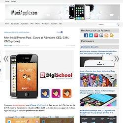 Mon Instit iPhone iPad : Cours et Révisions CE2, CM1, CM2 (promo)