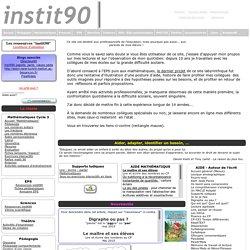 instit90: cycles 2 et 3