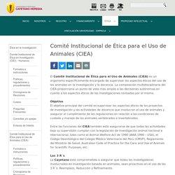 Comité Institucional de Ética para el Uso de Animales