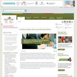 L'Institut canadien pour la sécurité des patients