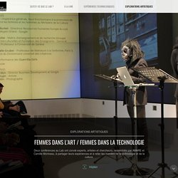 Le Lab de l'Institut culturel de Google, au carrefour de l'art et de la technologie