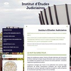 Institut d'Etudes Judiciaires