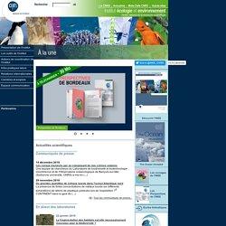 Environnement et développement durable - CNRS