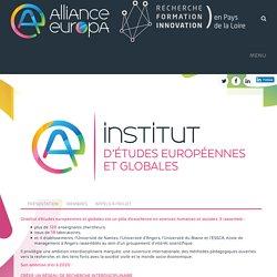 Institut d'études européennes et globales – Alliance Europa