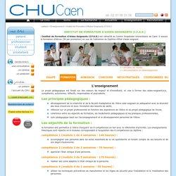 Institut de Formation d'Aides-Soignants (I.F.A.S.) - CHU de Caen