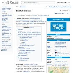 Institut français (article)
