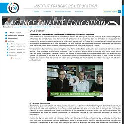 Le dossier — Site de l'Institut Français de l'Education