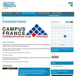 Opiskelemaan Ranskaan