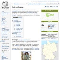 Institut Goethe (Allemagne) (article)