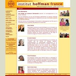 Institut Hoffman France - L'Équipe