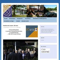 Institut de Locarn: 20 ans!