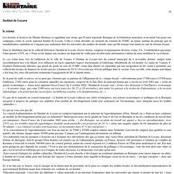 n°1301s, HS n°22 (19déc. 2002-8janv. 2003) - Institut de Locarn - Le site du Monde libertaire