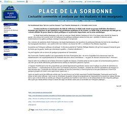 Place de la Sorbonne - Qu'est-ce que l'Institut Montaigne ? - L'