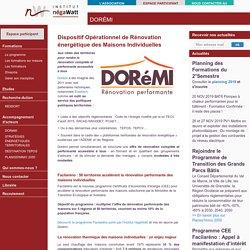 Institut Negawatt - Le dispositif DORéMI