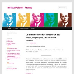 Institut Polanyi france