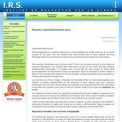 Institut de Recherche sur le Stress: conseils, gestion, formation