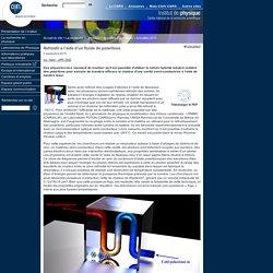 Institut de physique - CNRS - Refroidir à l'aide d'un fluide de polaritons