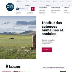 CNRS SHS