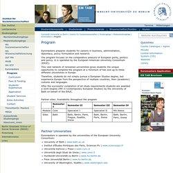 Program — Institut für Sozialwissenschaften