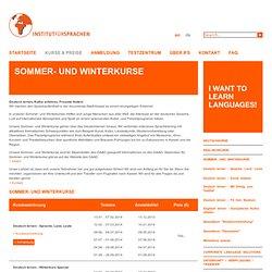 Institut für Sprachen - Sommer- und Winterkurse