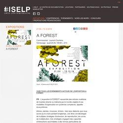 A FOREST – ISELP - Institut Supérieur pour l'Étude du Langage Plastique