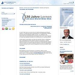 Heinz Nixdorf Institut: Teilnahme und Programm