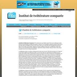 L'Institut de twittérature comparée