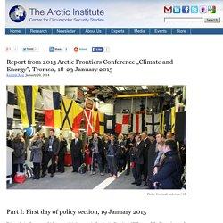 The Arctic Institute - Center for Circumpolar Security Studies