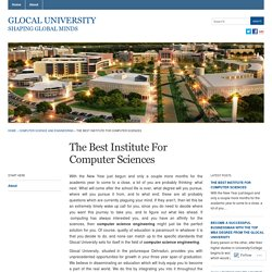 The Best Institute For Computer Sciences « Glocal University