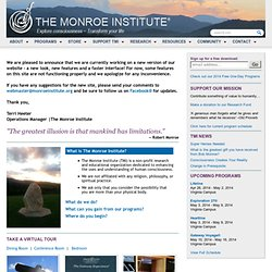The Monroe Institute | Explore Consciousness - Transform Your Life