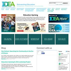 Institute for Democratic Education in America | IDEA